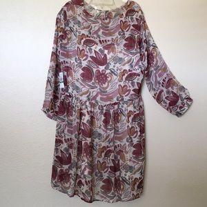 Bohemian dress Vince Camuto NWT Size Large
